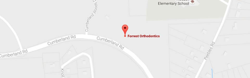 North Hill Maps Forrest Orthodontics